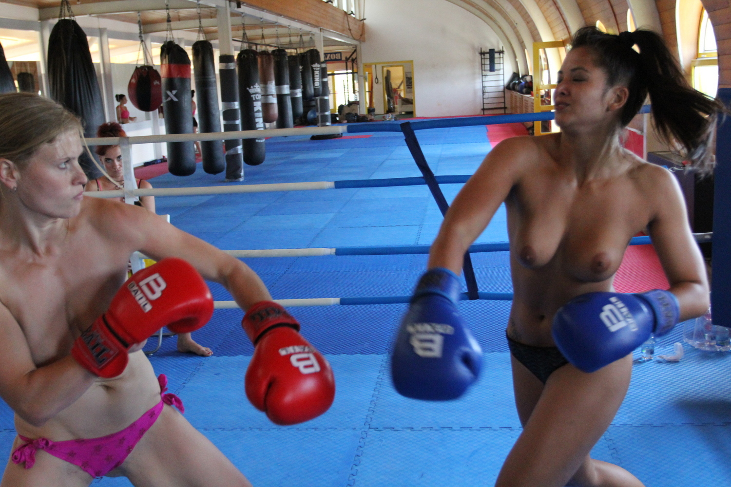 movies naked girls boxing