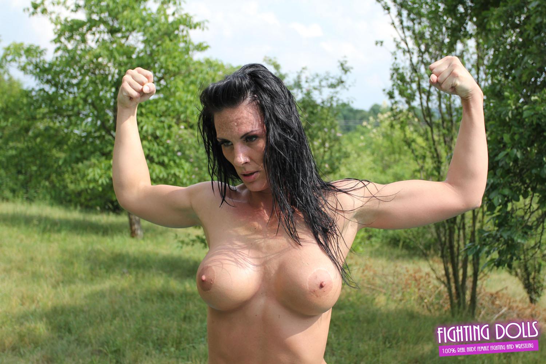 female fighter nude